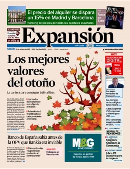Noticias de Cierre publicadas el día 16/10/2016.